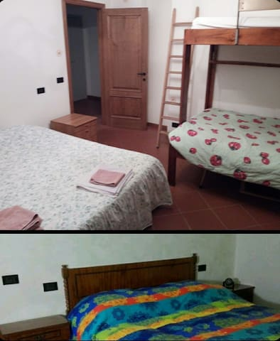 Two rooms between Florence,Siena and Chianti area