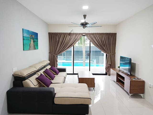 Waterpark Ipoh Homestay / 3 Bedroom