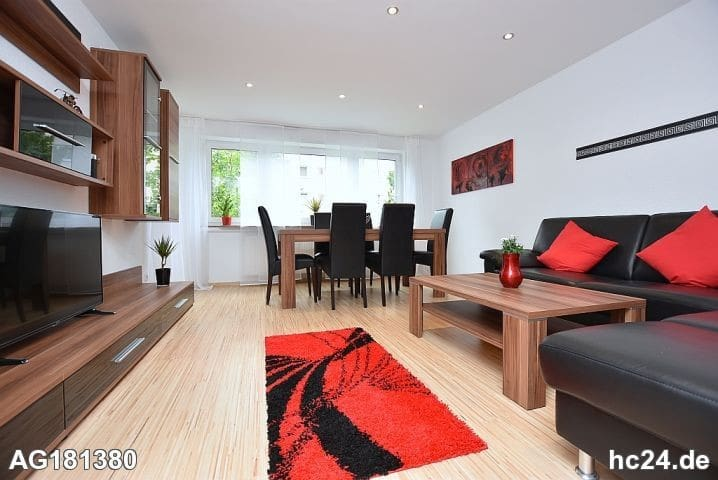 BLACK and RED in Leonberg bei STUTTGART ***** - Leonberg - Apartment