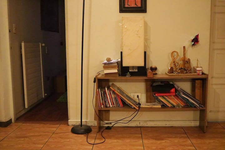 Pieza interior en casa KalfuNewen - Los Cerrillos