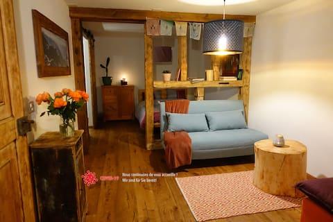 Nax : studio cosy pour séjour bien-être et sport