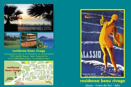 Appartamento Rosmarino - vista collina - Alassio