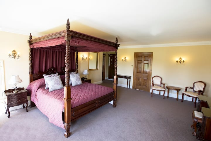 Private suite located in stunning mansion house