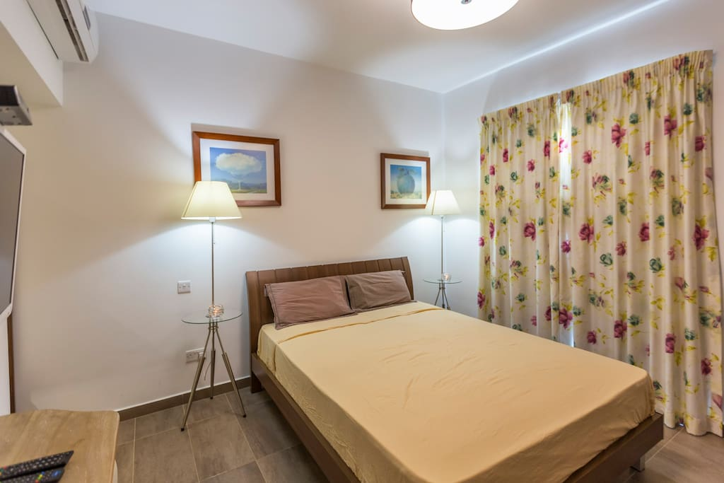"""Main Bedroom including a 32"""" Led TV"""