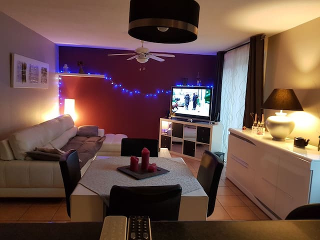 Chambre privée NO de Toulouse, parking gratuit