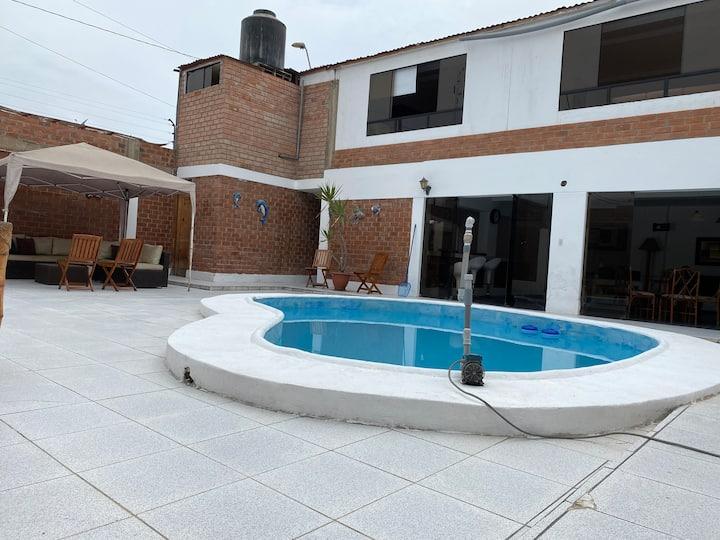 Gran Casa de playa Santa Rosa Alta/ Punta Negra