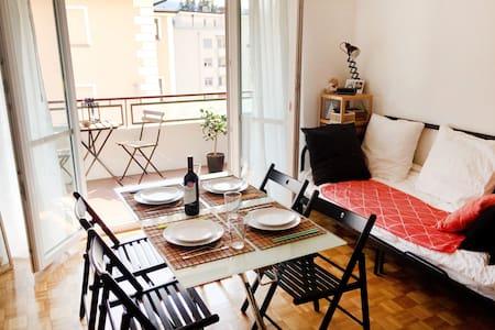 Cosy and sunny studio, 10min from Piazza Grande - Muralto - Διαμέρισμα