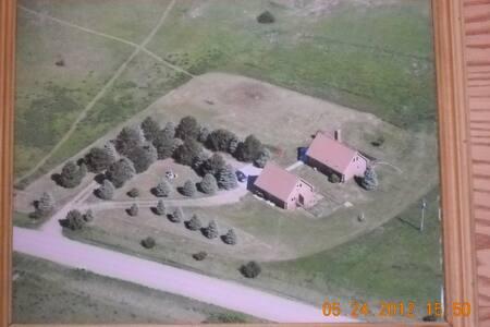 Prairie View Log Home - Kearney - Casa
