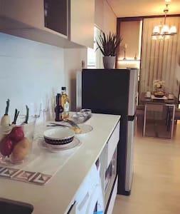 现代感的曼谷市区一居室 - 曼谷 - Wohnung