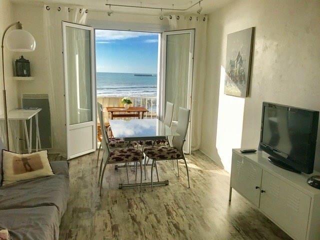 T2- vue exceptionnelle sur la plage-tout confort - Les Sables-d'Olonne - Διαμέρισμα