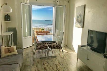 T2- vue exceptionnelle sur la plage-tout confort
