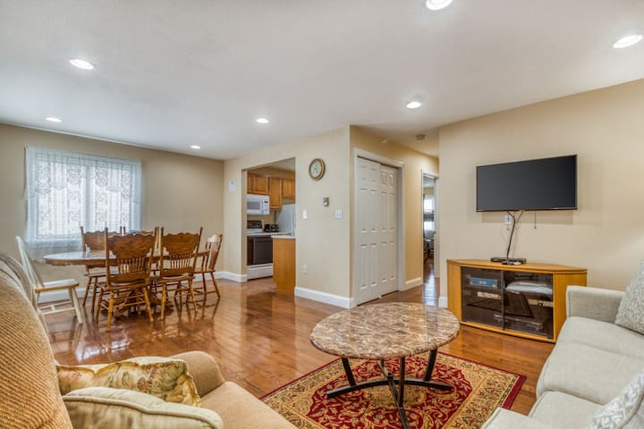 Spacious getaway near amusement parks, the beach, and the Boardwalk