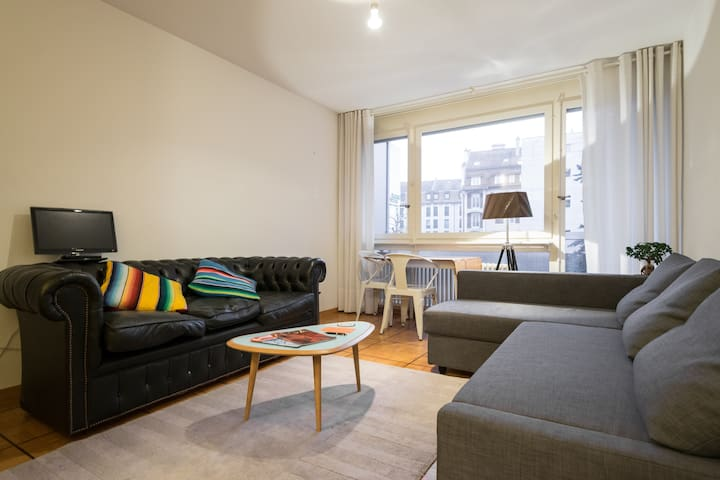 Perfect Location in Nyon, central and convenient - Nyon - Apartamento