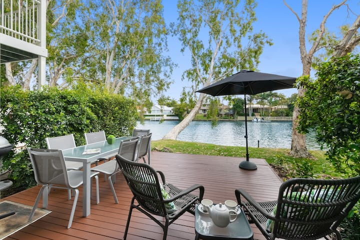 2 Bedroom Waterfront Townhouse.