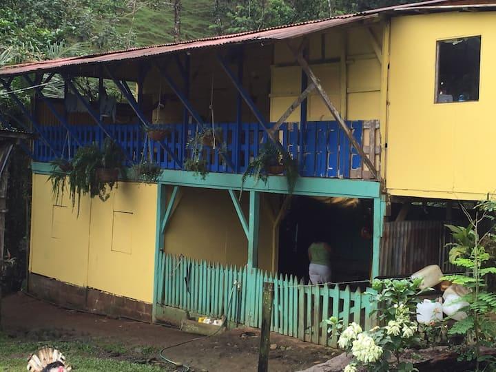 House in rainforest Virgen Sarapiqui, Costa Rica