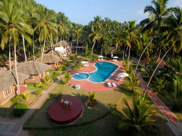 Superior room pool facing at Chowara -Kovalam