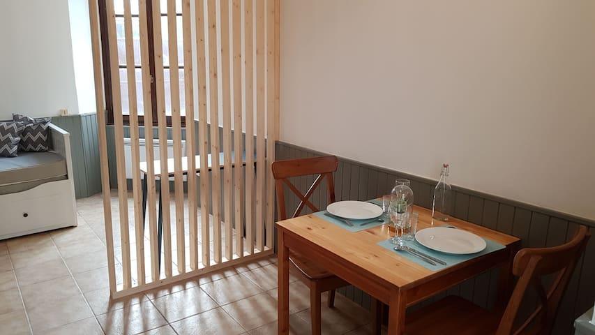 Studio cosy à deux pas de Terratec et du CEA