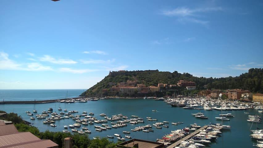 Splendido affaccio sul porto - Porto Ercole - Apartamento