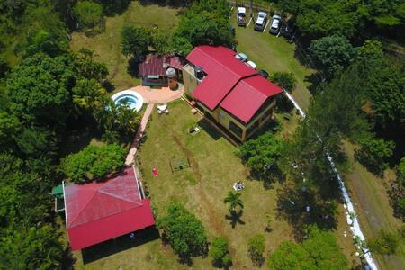 Casa campestre a 45 minutos de Santo Domingo