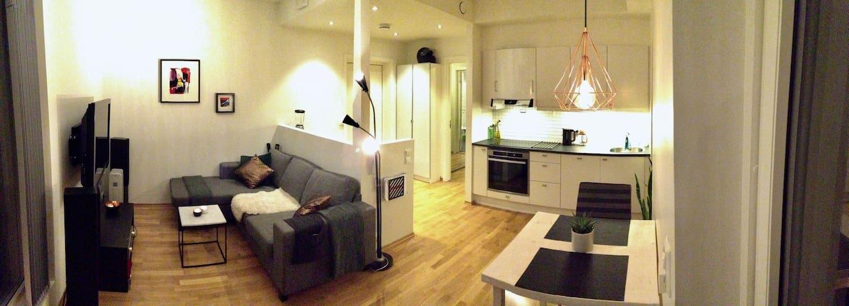 Moderne leilighet med parkeringsplass - Malvik - Daire