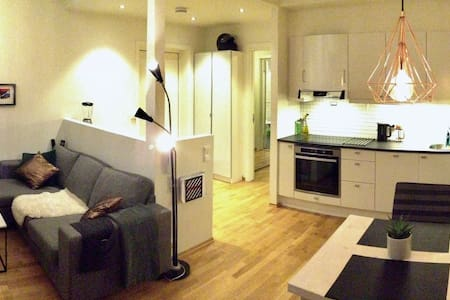 Moderne leilighet med parkeringsplass - Malvik - Apartmen