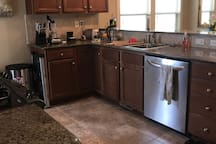 Full kitchen available for guest use