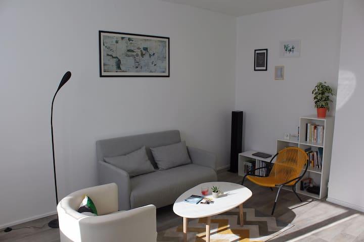 T2 lumineux & idéalement situé Nantes centre - Nantes - Huoneisto