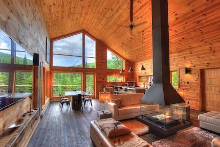 Chalet 10 personnes Lac,  Montagne,  Spa et Sauna