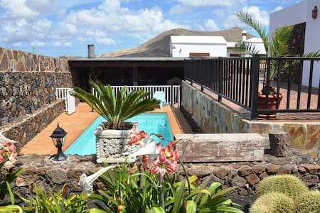 Your perfect holiday home! private heated pool! - La Vegueta