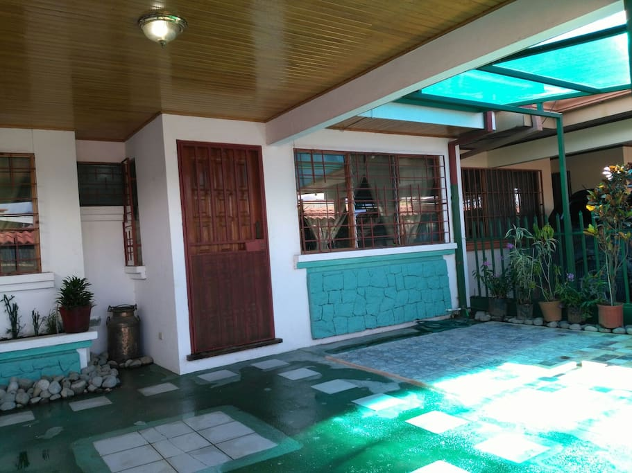 entrada de casa