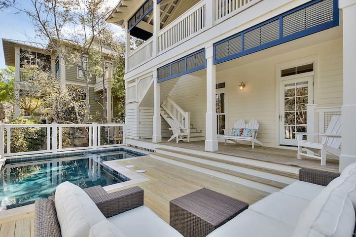 Sundeck plus covered patio