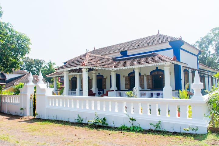 luxury Heritage Portuguese villa at Moira Nth Goa - North Goa