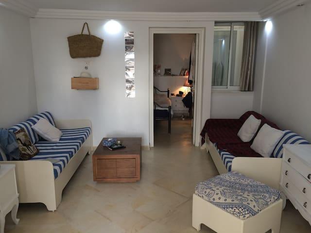 A sweet and modern studio in la Marsa near the sea