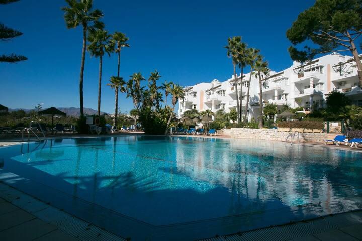 Mijas 2BR Suite, beautiful Golf area, self checkin