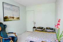 Chambre agréable à 15 minutes du centre de Paris