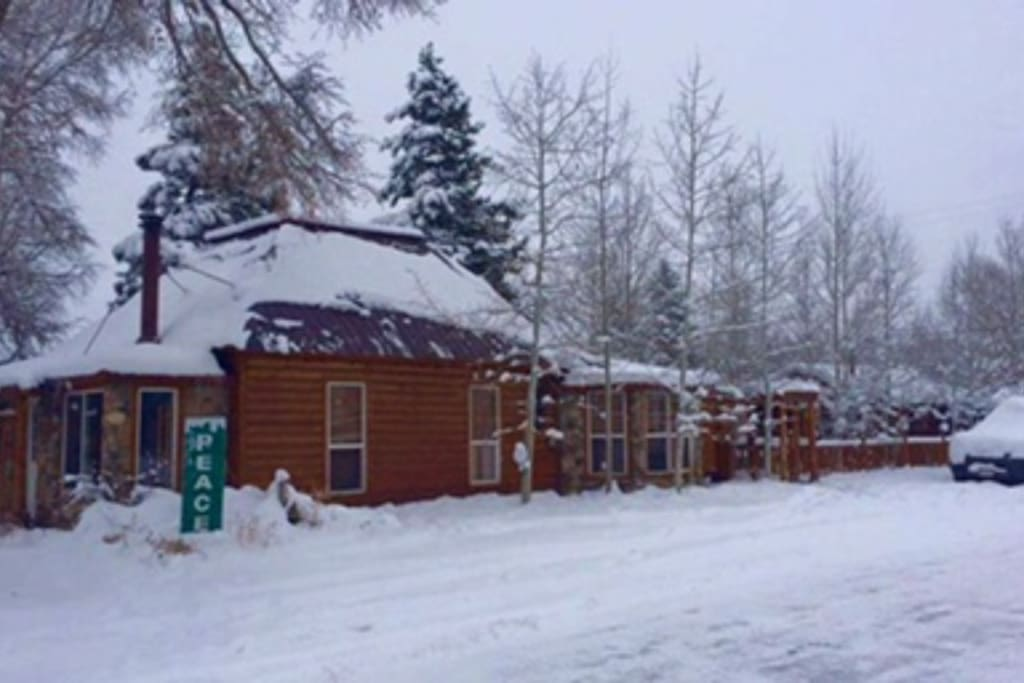 Located in town (in Yampa) off Hwy 131. Just 27 miles from Steamboat. One level home, 1,000 square feet.