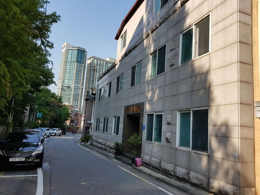 View of Mapo Residence building.