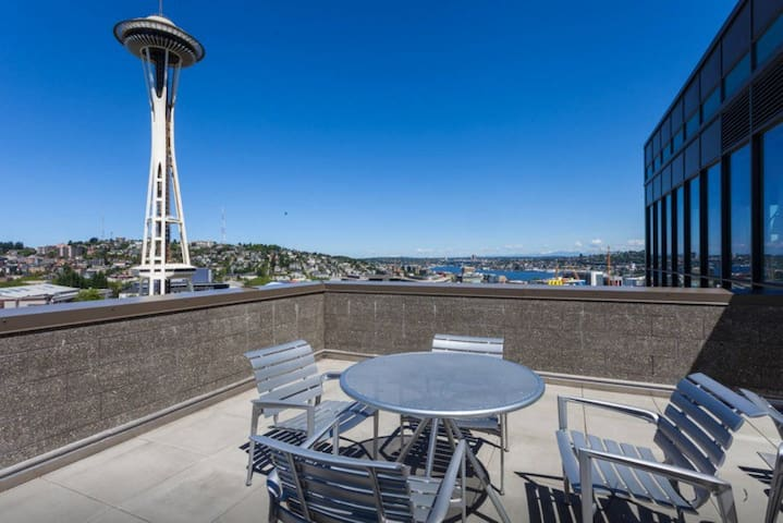 Space Needle Condos 2BR/2BA 1 - Seattle - Apartment