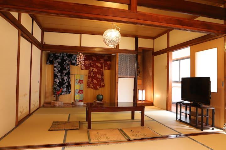 Around Kyusyu/FreeWifi/Miyazaki/Surf/MarineSports - Nichinan-shi - House