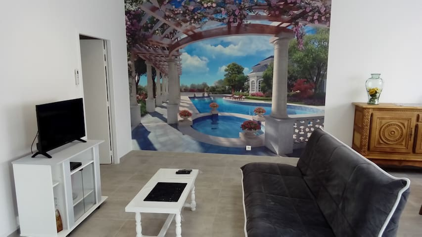 maison de vacances ou cure à Casteljaloux