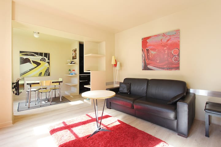 Lovely 1 bedroom heart of Le Marais area