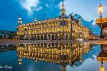 Gran Teatro de la Habana. Great Theater of Havana, built in 1838. It is 100 meters from the apartment.