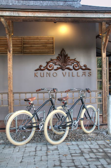Complimentary bikes