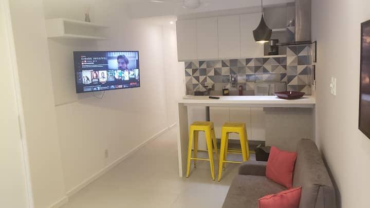 Studio Aconchegante em Copa Prox da  Praia e Metro