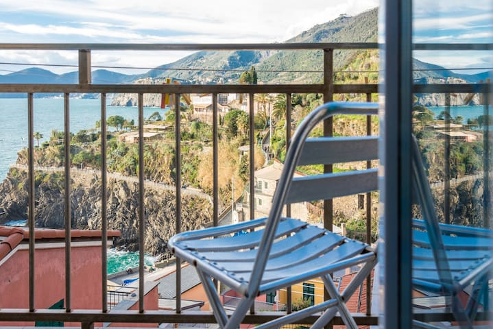 Studio Lucio, sea view Manarola