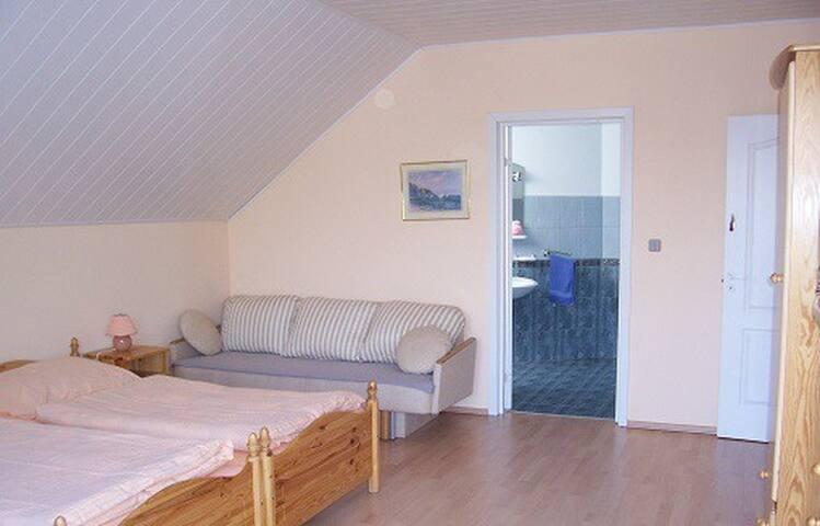 Krola Sielaw 8 - Zimmer 2 (mit Balkon) - Mikołajki - Kondominium