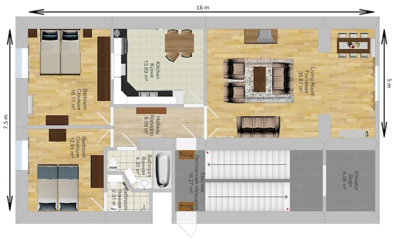 apartment layout