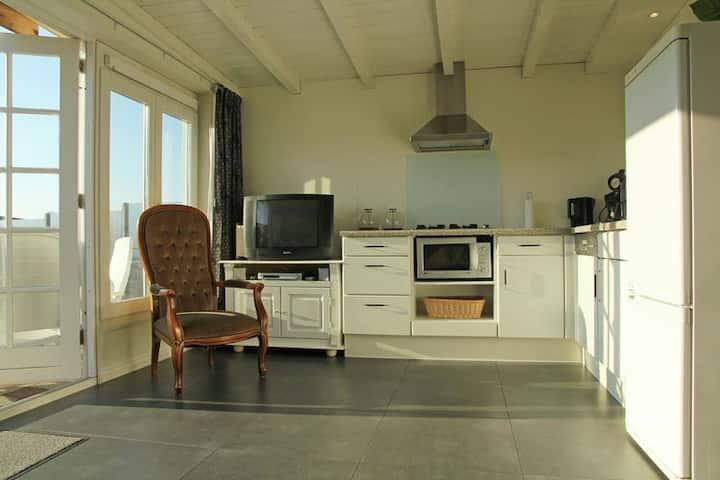 Knus vakantiehuis 600 meter van het strand in het vissersdorpje Egmond aan Zee
