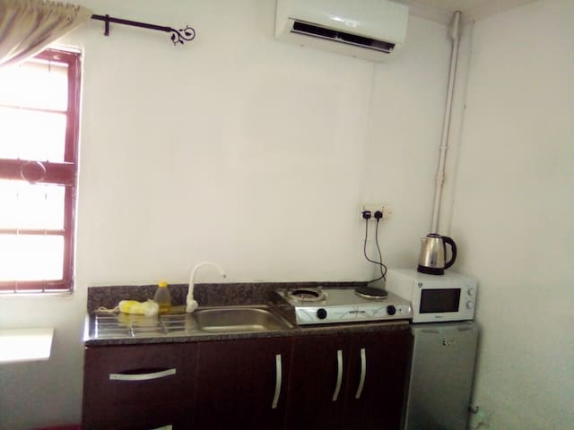 Lekki Studio1 with 24hr power, free wifi and dstv