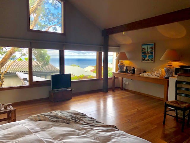 Ocean view from King Bed